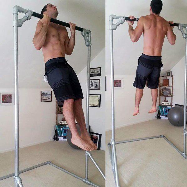 DIY Free Standing Pull-Up Bar