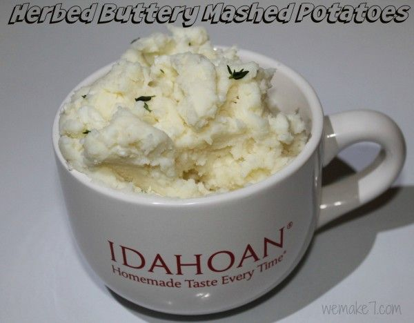 Idahoan Mashed Potatoes Recipe & Giveaway! - *