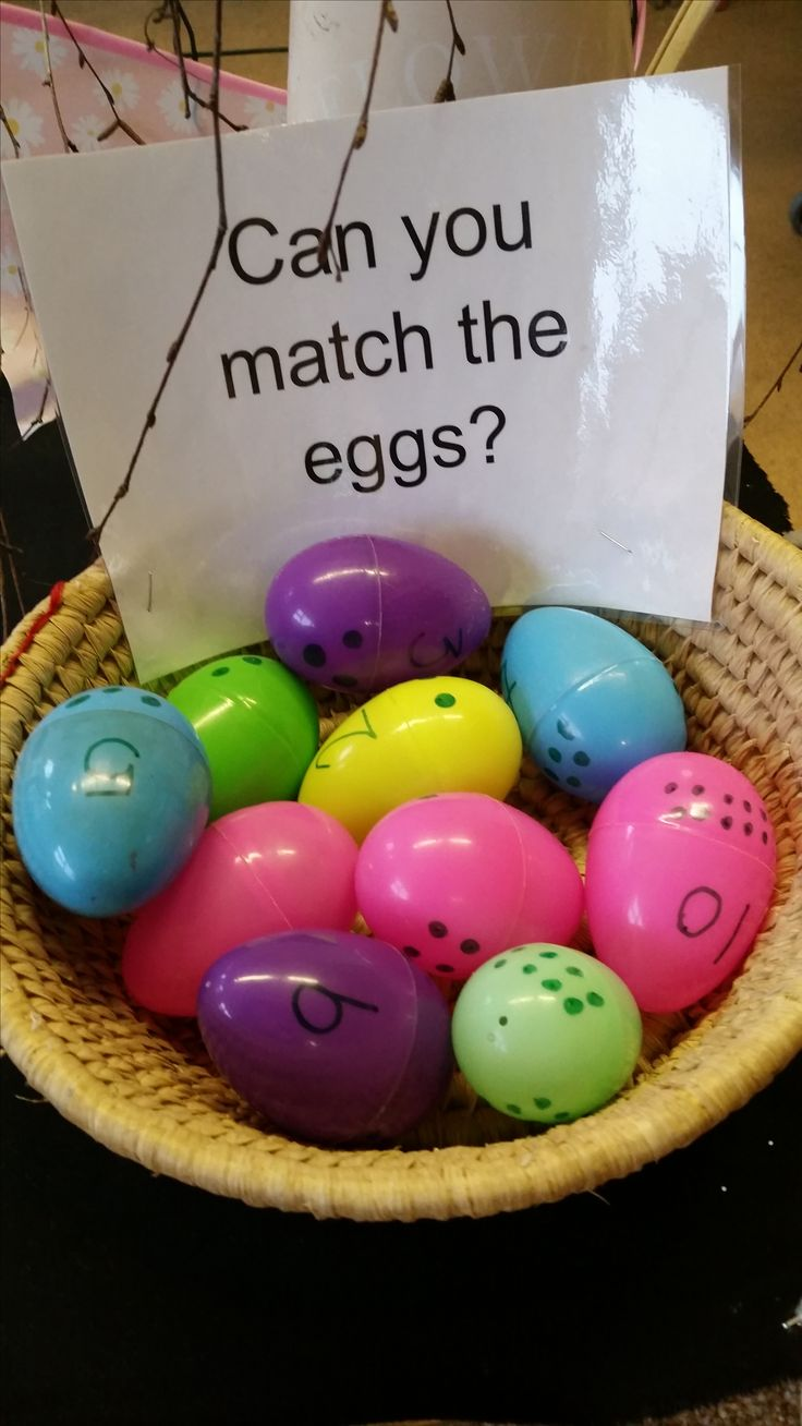 Can you match the eggs at Chadwell Pre-school
