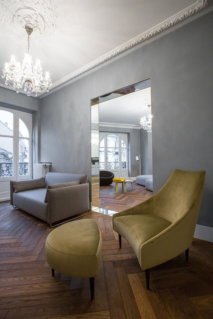Strauss Apartment – Strasbourg, France. - The Cool Hunter. Admired by www.stephenneall.co.uk