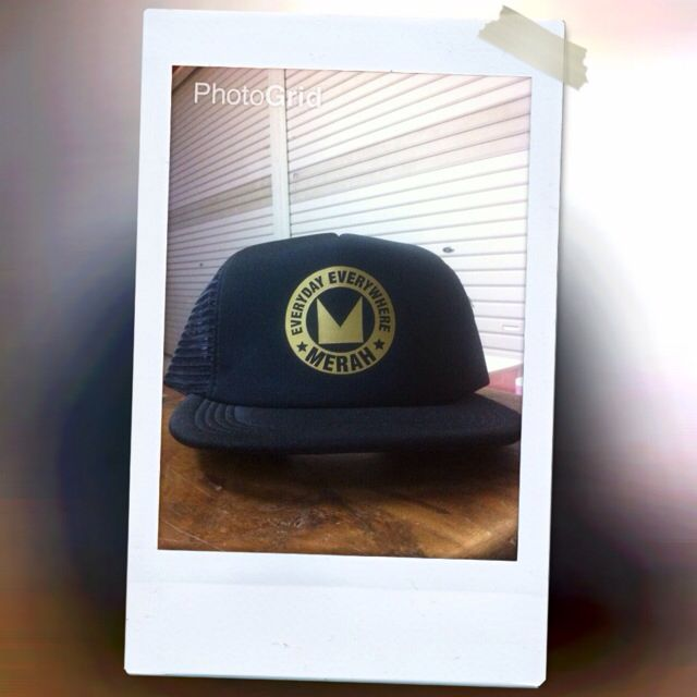 My Hat and This my Hat.   If you want Your design put in Hat, you can order to:   Wa : 082376202725 BBM : 5d8c23e2