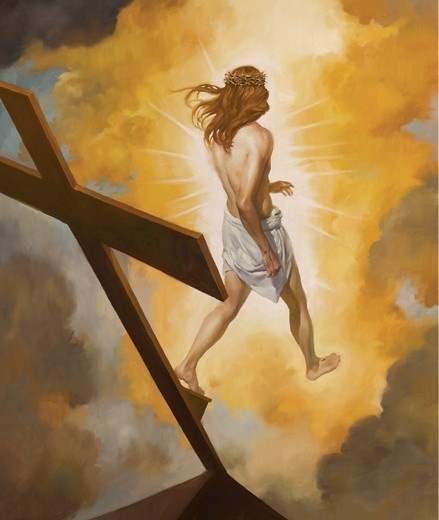 An Easter image taken from the pages of Newsweek.com