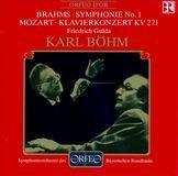 Brahms: Symphonie No. 1; Mozart: Klavierkonzert KV 271 [CD], 00000000000517893