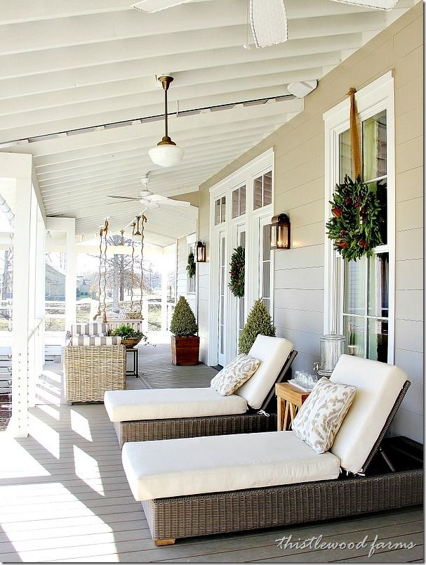 Amazing front porch