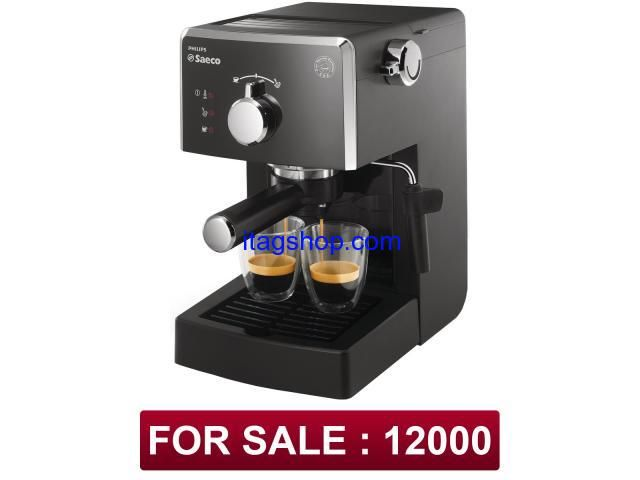 Description  Espresso machine Sinbo SCM 2926 a great choice for anyone who truly loves coffee. With its powerful 15 bar pump, you will get a rich, deep flavor drink. The function of beating a high-pressure foam milk frother. Mechanical switch modes with coffee, steam and Standby with pre-heating. Spoon and filters in the set. Eshopnsave (dot) com (dot) pk is the largest online shop we deliver products at your doorstep with cash on delivery all over Pakistan 100% secure process.