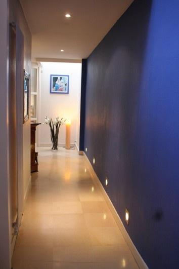 floor lights / blue