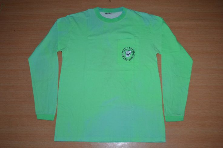 Vintage 90s PUBLIC ENEMY Blow Away The Clones Tour Concert promo LS green rare T-shirt by OldSchoolZone on Etsy