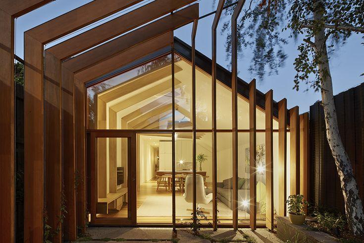 Cross-Stitch House landscape   FMD Architects   Melbourne