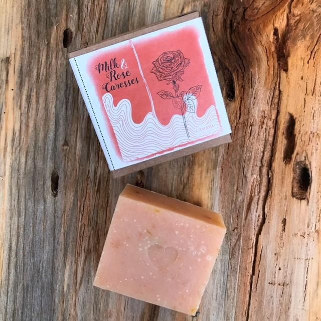 Valentine's Day: Milk & Rose Caresses Soap