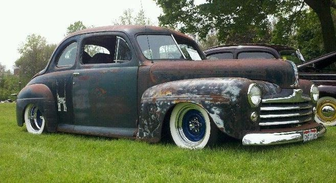 My 1947 Ford Coupe. Channeled 6 inches on s10 frame ...