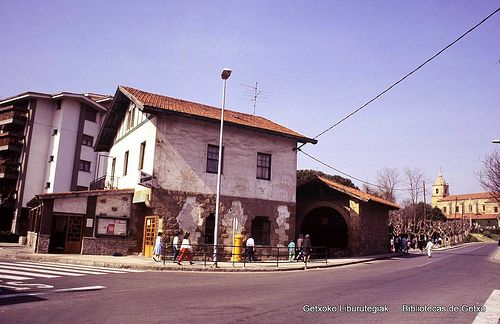 Bar restaurante La Venta, Andra Mari, años 80 (Foto: Joseba Geijo) (ref. JG050)