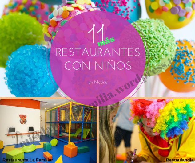 Restaurantes con niños en Madrid