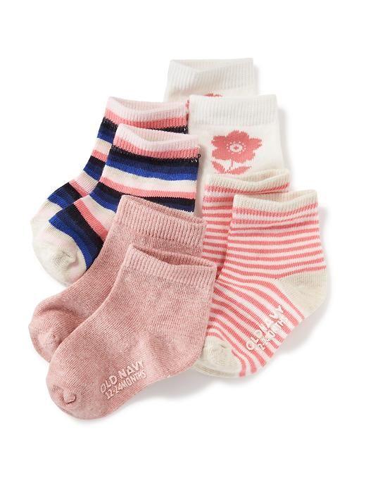 Non-Skid Socks 4-Pack