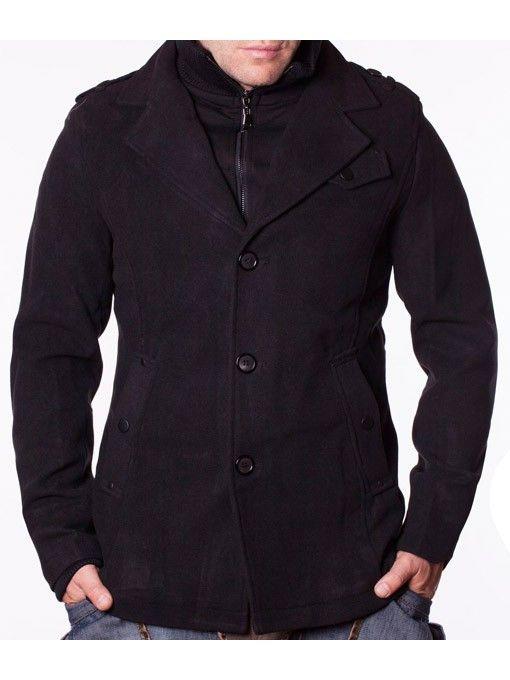 Palton barbati de iarna Sirrion negru