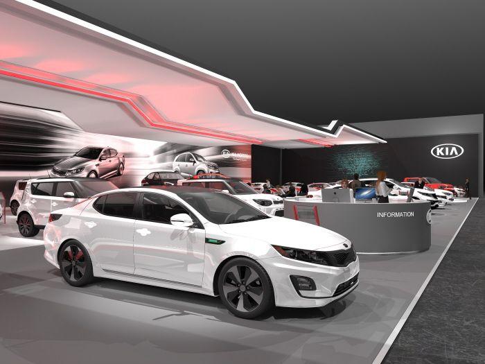 Canadian auto show program based on kia motors for Kia motors columbia mo