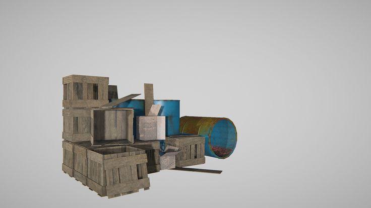 Barrels&wooden-Box, Surendar Sura on ArtStation at…