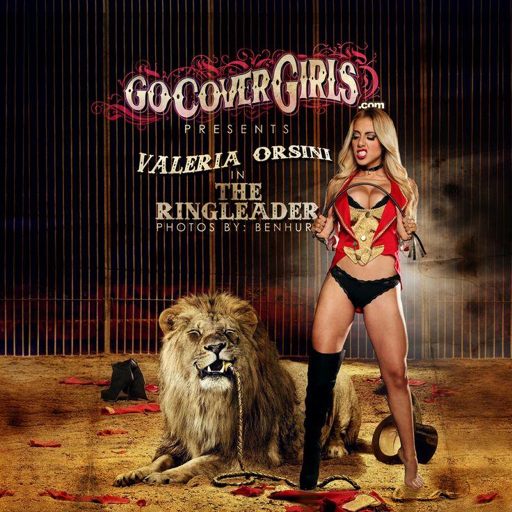 """Valeria Orsini """"Ringleader"""" series @GoCoverGirls gocovergirls.com #ValeriaOrsini #fantasy #art #ringleader #circus #glamism"""