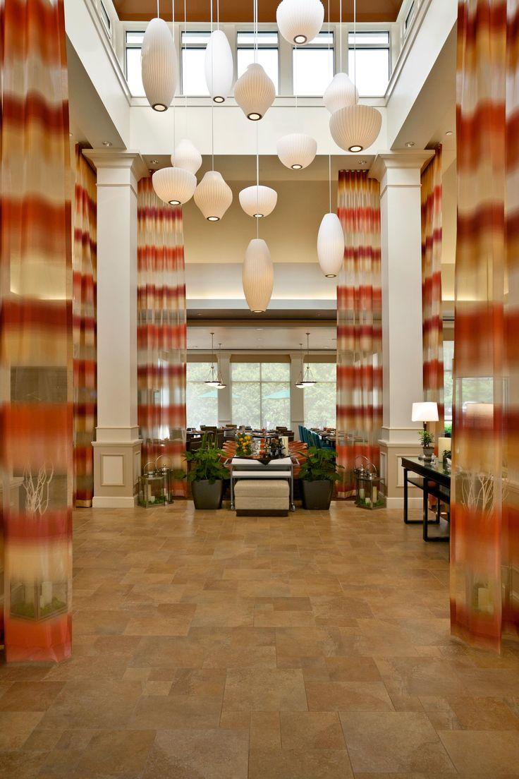 Hilton Garden Inn Saratoga Springs Hotel lobby, Home decor