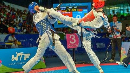 Olympics taekwondo wtf fight fighting wallpaper