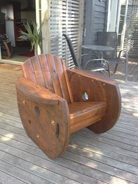 Cable Drum Chair