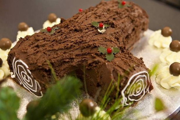 Christmas Bailey's Yule Log from a recipe by University College ...