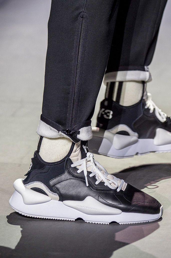 c18cc1326 Y-3 Yohji Yamamoto x adidas Y-3 Kaiwa Sneakers