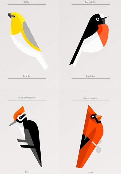 Top 25 best bird illustration ideas on pinterest for Minimal art family