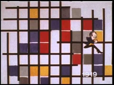 AWESOME VIDEO!!   Mondrian evidently loved Boogie Woogie and so I set a history of his work to his favourite music. Animation is hand drawn and shot on 16mm film. For more info   on this and loads of other animations see my Book /DVD on Amazon :- http://www.amazon.co.uk/Animation-Handy-Guide-Sheila-Graber/dp/1408102838 Music is By Flying Teachers (Own work) [Publ...