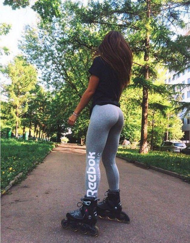girl in yoga pants xxx