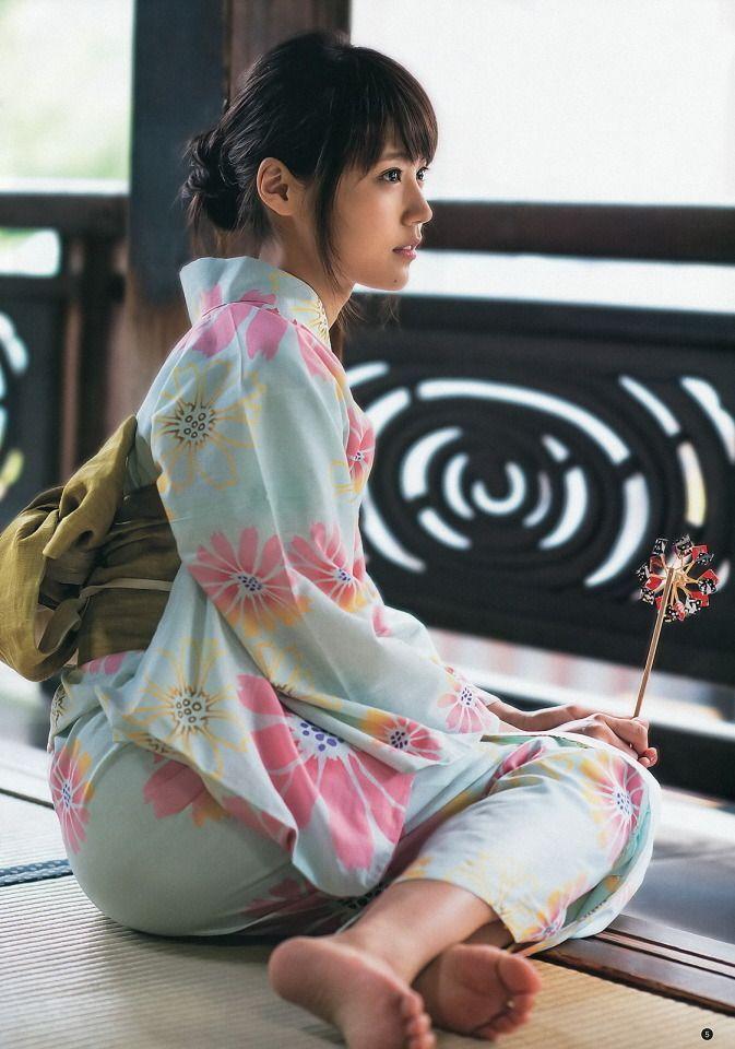 Yukata, Kasumi Arimura