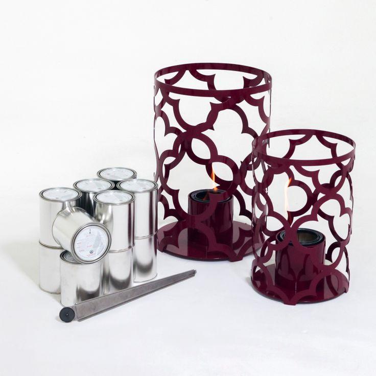 TF Essentials Mediterranean Outdoor Lantern Set