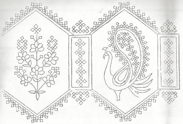 kutch work designskutch7jpg embroidery4 pinterest