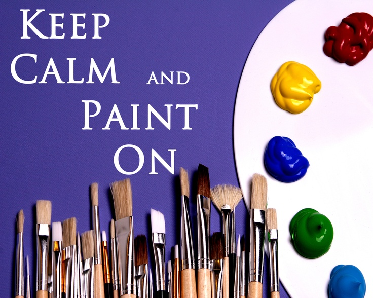 Debbie Does Creations: Keep Calm and Paint On FREE Printable