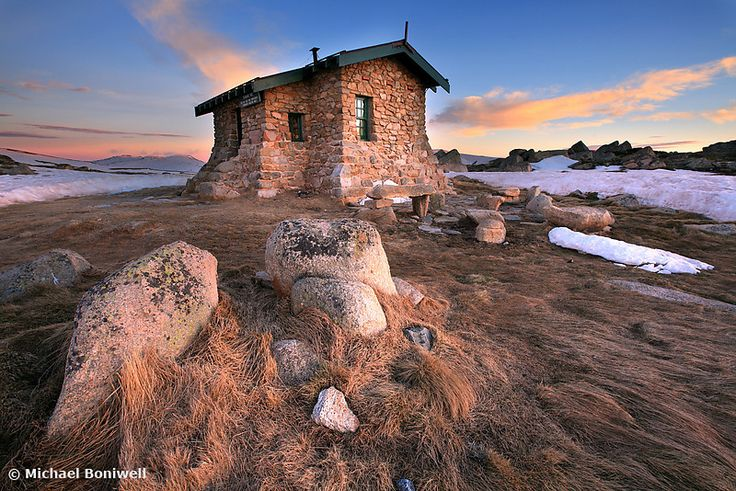 Chockstone Photography - Seamans Hut below Mt Kosciuszko