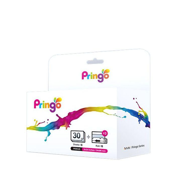 For Hiti Pringo P231 Professional Photo Paper 30 Sheets/Box  for HITI Pringo P231 WiFi Portable Mini Printer