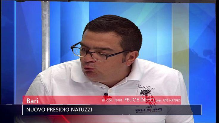 BARI NUOVO PRESIDIO NATUZZI   TG TELE APPULA 211