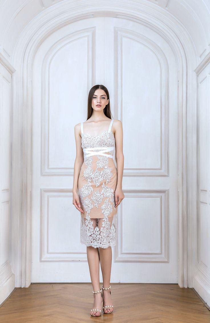 Bronx And Banco - Camilla Blanc Dress