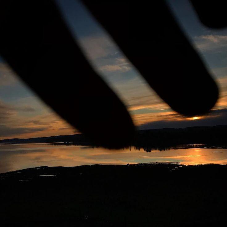#naturephotography #water #sunset  #østfold