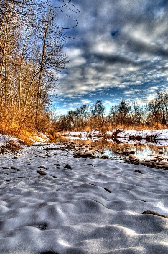 Boise River Winter by Daveidaho on Etsy, $20.00