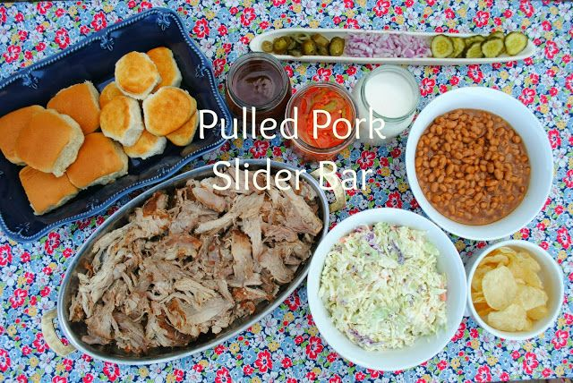 Jac o' lyn Murphy: Pulled Pork Slider Bar with #FreshFinds from Lucky Supermarkets