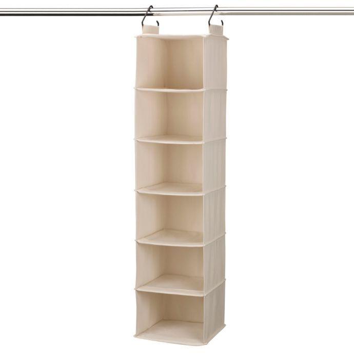 College Dorm Storage Organization Products Bed Bath Beyond Hanging Closet Organizer Household Essentials Shelf Organization