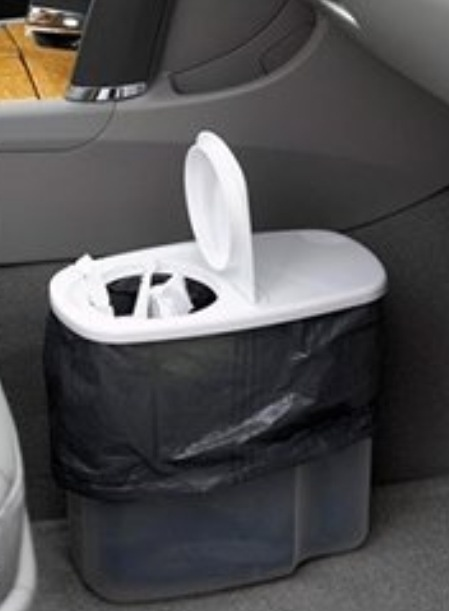 Car Trash Can Made From Cereal Container Helpful Hints Car Trash