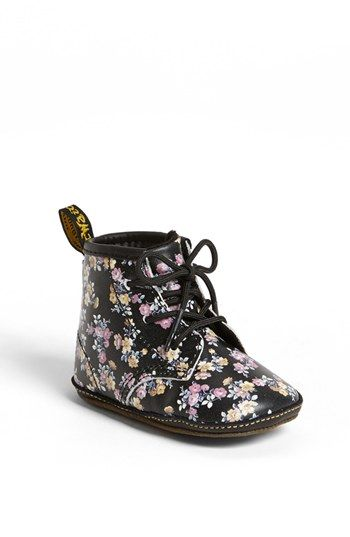 Dr. Martens Crib Bootie (Baby) available at #Nordstrom. Stellan must have. In oxblood. He shall match Mommy.