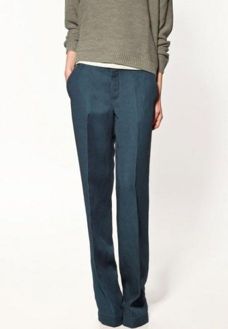 bright pants grey zara