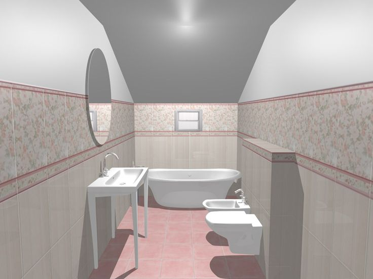 Plăci ceramice pentru interioare în stil provensal!  Model de design pentru baie cu gresie, faianta si decoruri din colectia Provence realizat de catre departamentul de design Castilio. Aceasta colectie este expusa in Showroom-ul de gresie si faianta Castilio din Bulevardul Mihai Eminescu, nr.170