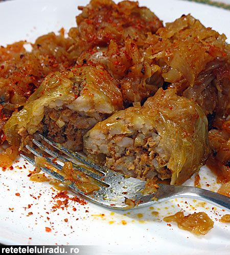 Romanian sour cabbage sarmale