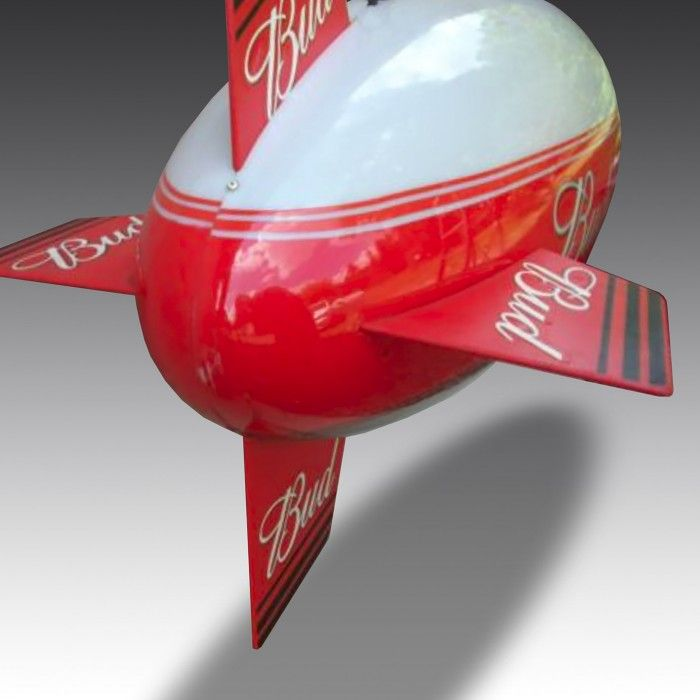This fabulous one metre long airship makes an striking centrepiece in any room. Originally conceived as a means of downlighting pool tables, it can of course be used anywhere, and will just as effectively illuminate your dining table, train set or stamp collection!