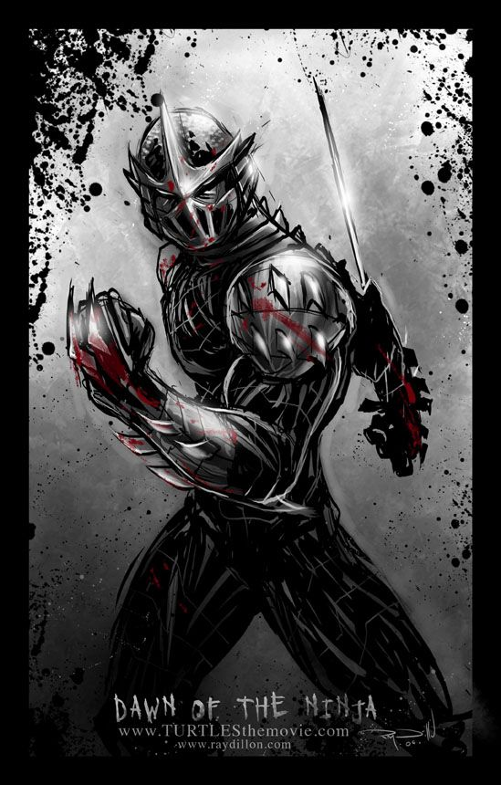 Shredder : Dawn of the Ninja TMNT by ~RayDillon on deviantART