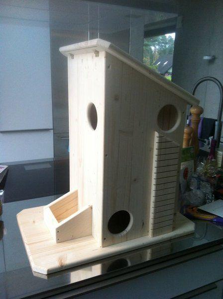 eichhörnchen haus  nistkasten selber bauen vogelhaus