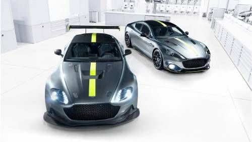 Aston Martin Goes Hardcore with AMR AMR Pro Versions